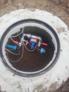 montaż studni głębinowej